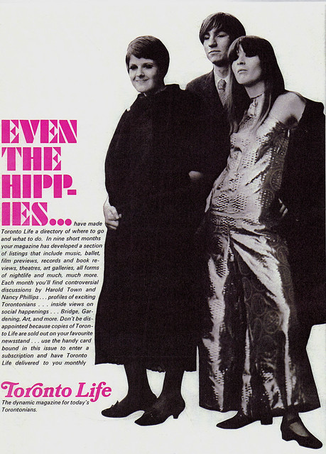 Vintage Ad #248 - Even the Hippies Read Our Magazine
