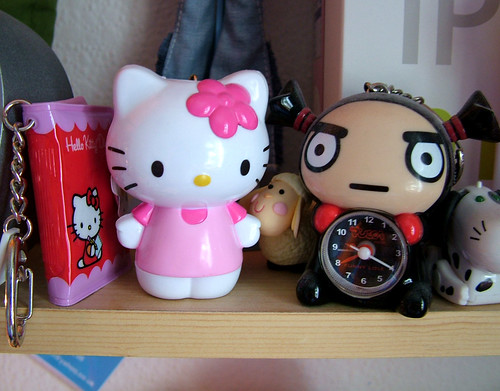 Hello Kitty and Garu keychains | by Strawberry Pies