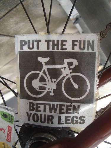 Cycling: Put The Fun Between Your Legs! | by dullhunk
