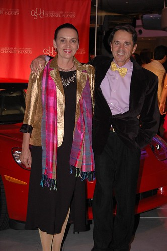 Irina Costache and husband attending President's Ball | by California State University Channel Islands