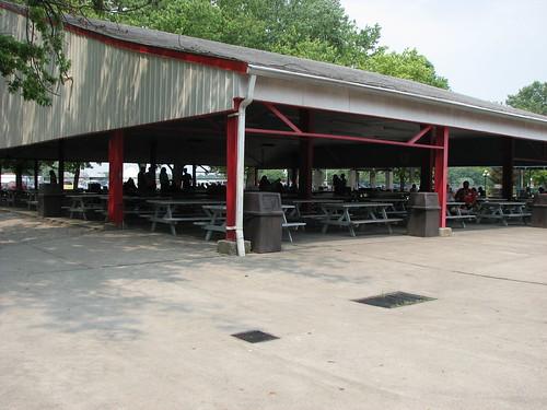 Picnic Pavilion Stricker 39 S Grove Amusement Park Ross