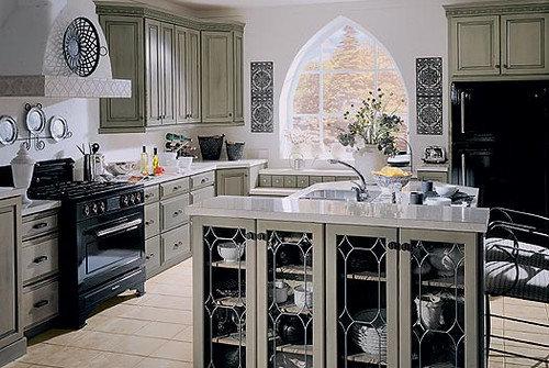 gray gothic kitchen | by s_ripperton gray gothic kitchen | by s_ripperton & gray gothic kitchen | Stephanie | Flickr