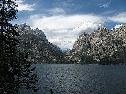 Cascade Canyon from the Jenny Lake Trail, Grand Teton National Park, Wyoming. Photo courtesy of Ken Lund
