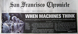 Singularity in San Francisco Chronicle | by david.orban