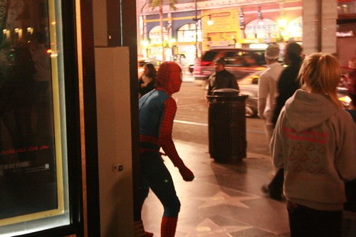 Spidey at Hollywood Boulevard | by hankoss