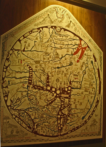 Mappa Mundi (c.1290), Hereford Cathedral | by PhillipC