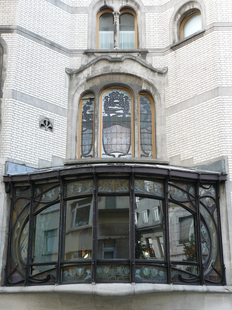 Bruxelles art nouveau Belgique Saint Gilles