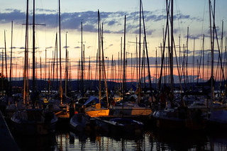 Yachts in the harbour | by peter_panamint