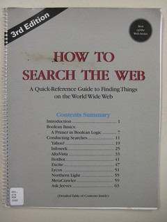How to Search the Web | by herzogbr