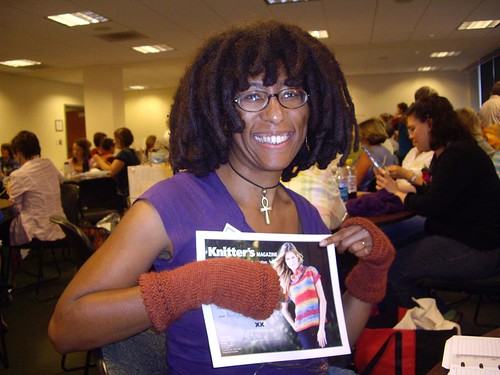 NoSoKnit Chocolate Giveaways - Karen won a Knitter's Magazine Subscription | by XRX Flickr