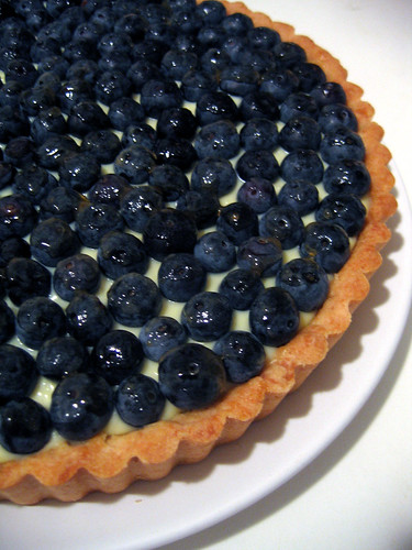 blueberry tart | by carryboo
