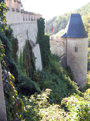 Castle wall and the well tower | by jakekrohn