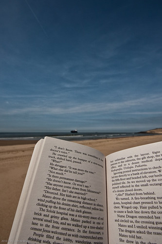 Reading a book at the beach | by Wouter de Bruijn