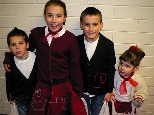... kids family 50u0027s costumes poodle skirts lettermans sweater | by ashleemarie.com  sc 1 st  Flickr & kids family 50u0027s costumes poodle skirts lettermans sweateru2026 | Flickr