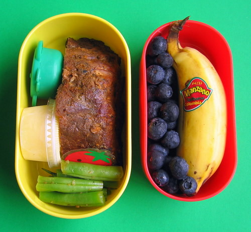 Chocolate chipotle rib lunch for preschooler | by Biggie*