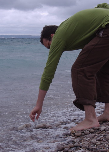 Petoskey stone hunting | by thebany
