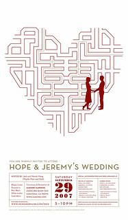 our wedding invite/invitation | by hopemeng