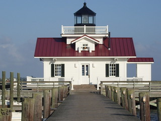 Roanoke Marshes Lighthouse at Manteo, NC | by PLCjr