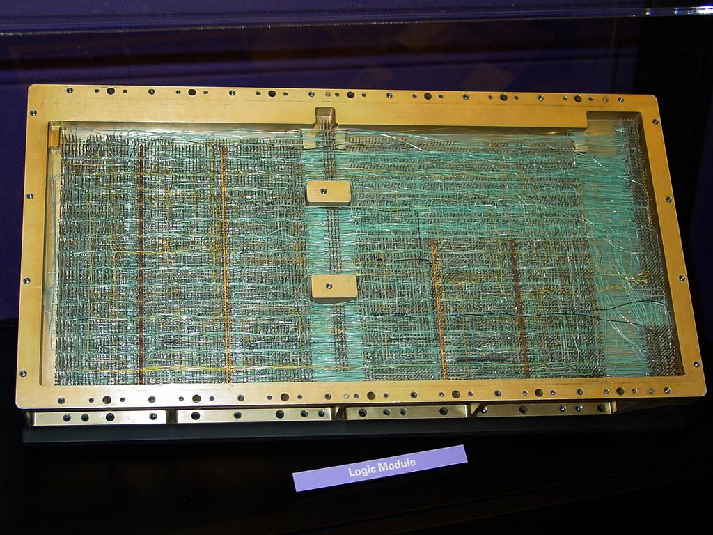 Apollo Guidance Computer Board | Board from the Apollo Guida… | Flickr