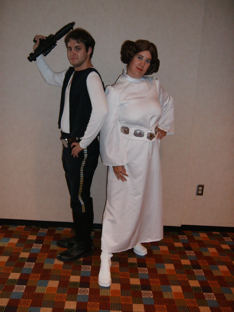 ... 006 Han Solo u0026 Princess Leia | by dragoncon (2006 - 2009)  sc 1 st  Flickr & 006 Han Solo u0026 Princess Leia | Dragon*Con 2007 Hall Costumeu2026 | Flickr