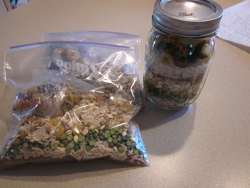 Bean jar and baggies | by trenttsd