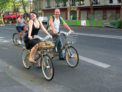 Velib riders | by malias