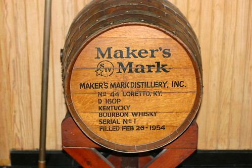 Maker's Mark Display Barrel | by ReeseCLloyd