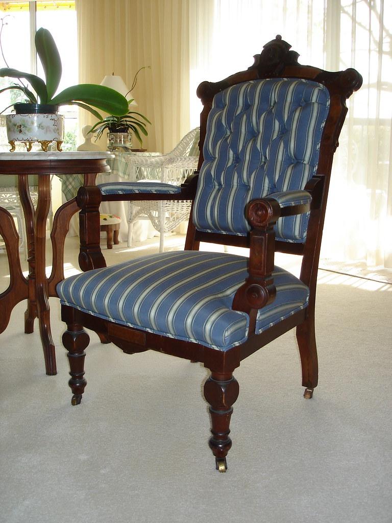 Eastlake Arm Chair Michael S Upholstery Flickr