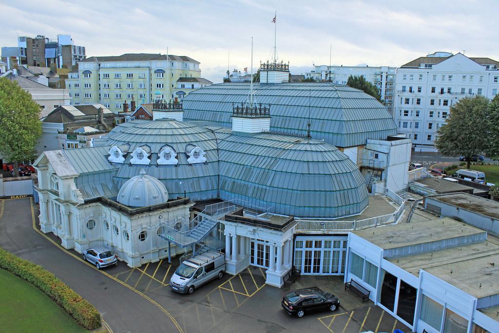 Winter Garden Theatre Eastbourne rear view | Winter Garden T… | Flickr