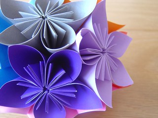 morning dew kusudama | by batixa