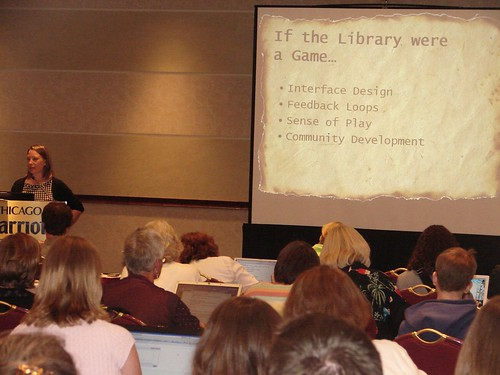 Lisa Janicke Hinchliffe talks about gaming at the University of Illinois, Urbana-Champaign Library | by American Library Association Publishing