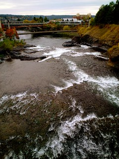 the spokane river heading west | by the endless road trip