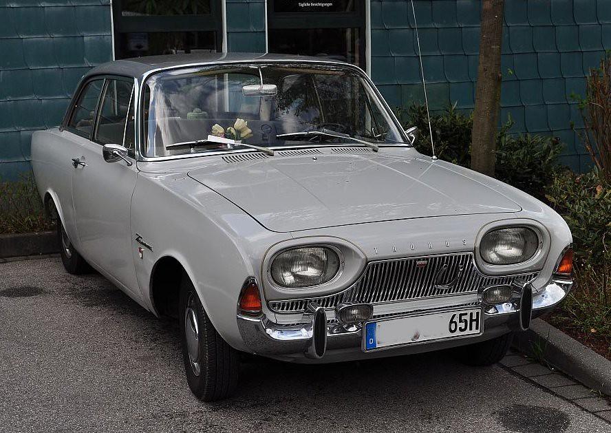 Ford Taunus 17m P3 Badewanne 1964 Sweden Man Flickr