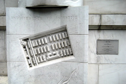 NYC - New York Supreme Court, Appellate Division - Memorial to All Victims of the Holocaust | by wallyg