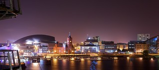 Cardiff at Night (2) | by BinaryApe