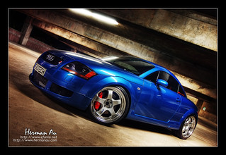 Denim Blue Audi TT Coupe | by Herman Au - http://www.hermanau.com