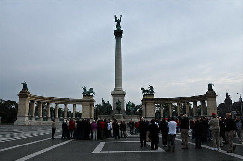 Heroes' Square, Budapest, Hungary ~ | by **Mary**