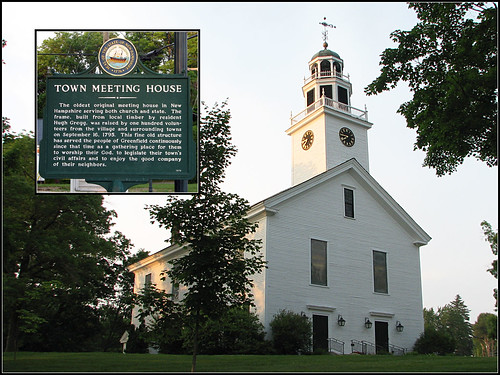 Greenfield Town Meeting House | by Dave Delay