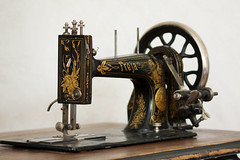Old sewing machine | by MayaLee Photography