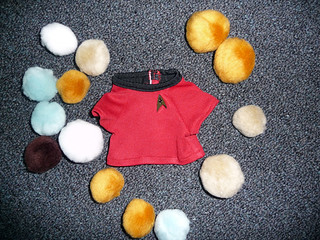 Red shirt & tribbles | by thinkgeekmonkeys
