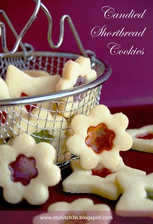 Candied Shortbread Cookies | by Lydia @ My Kitchen