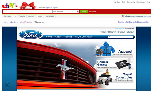 Ford Ebay Store A New Online Store Launched By Ford