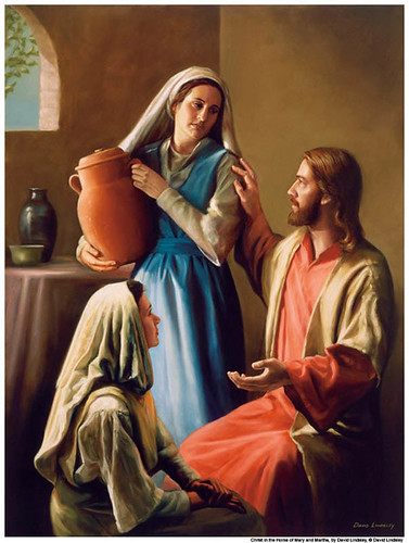 Mary Martha Jesus Mormon | by Mormon Images