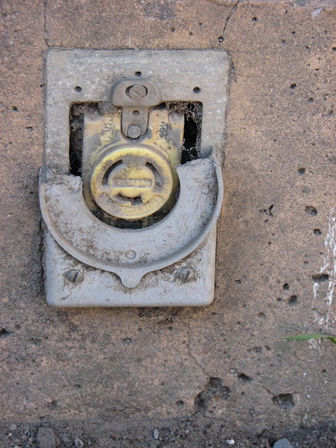 Old electrical socket | by twid