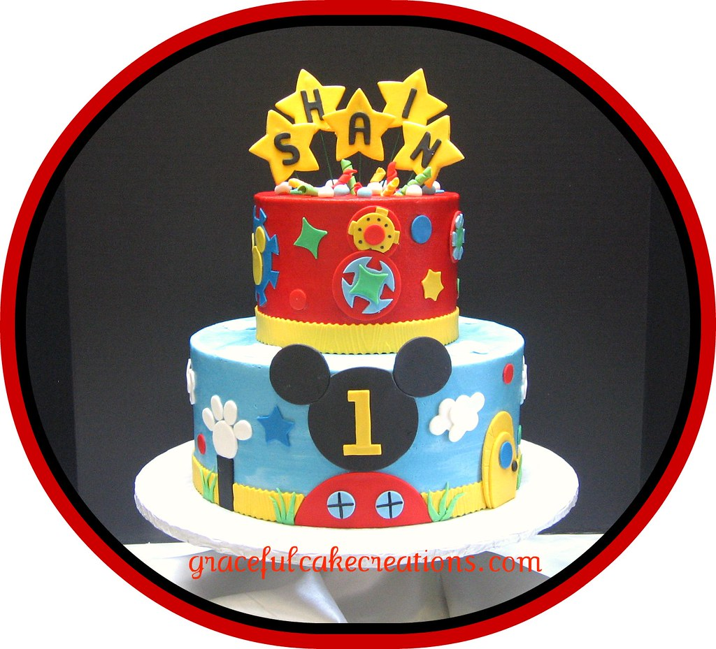 Mickey Mouse Clubhouse Birthday Cake Grace Tari Flickr