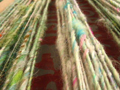 Handspun yarn | by CUBIST LITERATURE!