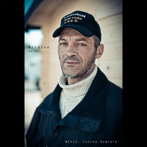 Day 88 - Nordine, welder | by dominikfoto