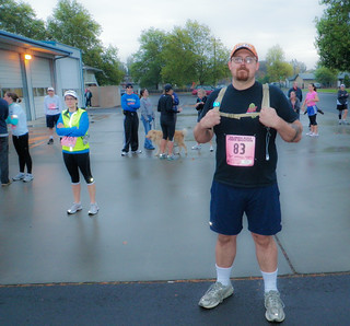 Clydesdale Runner - Columbia River Power Marathon | by ex_magician