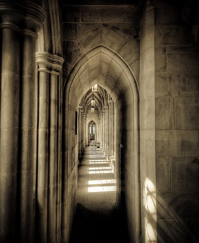 Gothic Walkway | by Bob Jagendorf