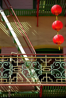 San Francisco - Chinatown Balcony | by David Paul Ohmer